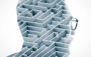 Verband Alzheimer en doolhoven