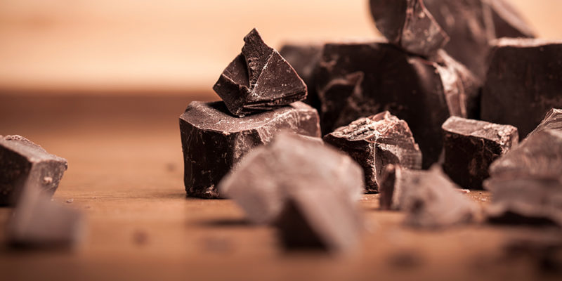 Chocolade breinsnack