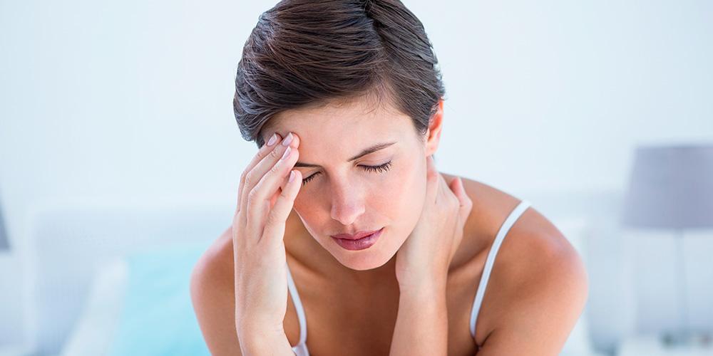 veel hoofdpijn en misselijk
